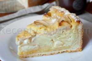 Рецепт яблочного пирога цветаевского