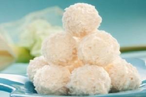 Рецепт кокосовых шариков с орехами