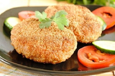 куриные котлеты рецепт правильное питание