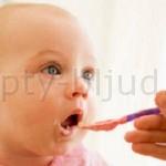 Пюре фруктовые детям до года