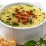 Суп картофельный по-французски