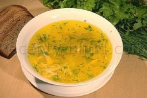 Суп куриный с вермишелью рецепт