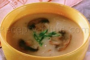 Рецепт овощного супа с шампиньонами