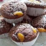Шоколадный кекс с мандаринами