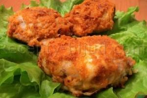 Курица в сырной корочке рецепт