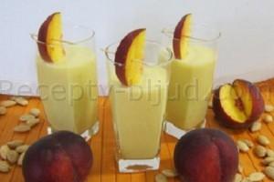 Персиковый коктейль рецепт