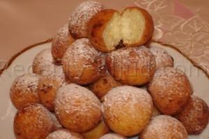 Пончики творожные рецепт
