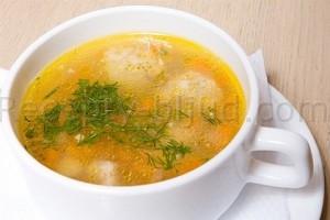 Рыбный суп с грибами рецепт