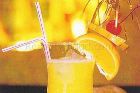 Рецепт напитка из апельсина с лимоном