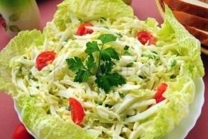 Салат с ветчиной и огурцом рецепт