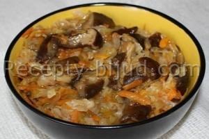 Солянка с грибами рецепт