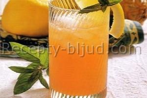 Апельсиновый крюшон с шампанским рецепт