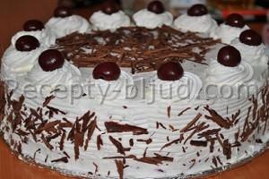 Шварцвальдский торт рецепт