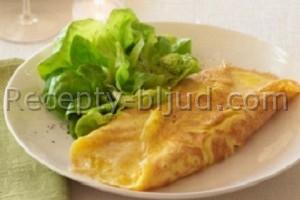 Французский омлет с сыром рецепт
