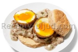 Яйца во фритюре рецепт