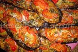 Жареные баклажаны с сыром рецепт