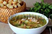Рецепт Гороховый суп с копченостями с фото