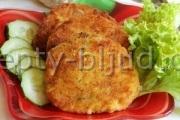 Картофельные биточки с сыром рецепт
