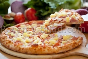 Рецепт Пицца Гавайская с фото