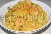 Рецепт рис с курицей фото