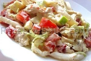 Рецепт Куриный салат с фото