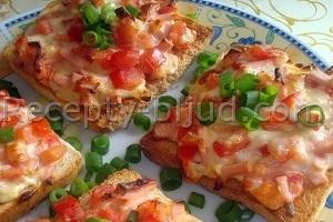 Горячие бутерброды с колбасой рецепт