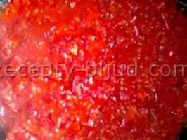 Фаршированные баклажаны с помидорами