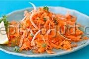 Простой салат из моркови рецепт