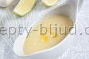 Чесночный соус рецепт