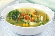 Суп с кукурузой рецепт