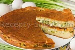 Заливной пирог рецепт