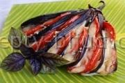 Веер из баклажанов рецепт