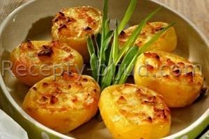 Картофель с ветчиной рецепт
