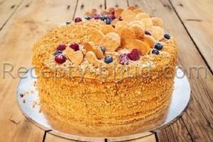 Домашний торт Рыжик