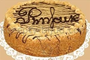 Рецепт торта Рыжик с фото