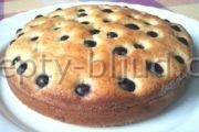 Рецепт пирога с изюмом с фото
