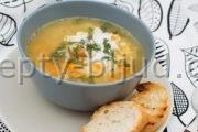 Пошаговый рецепт Суп с жареной курицей с фото