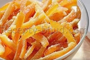 Апельсиновые цукаты рецепт