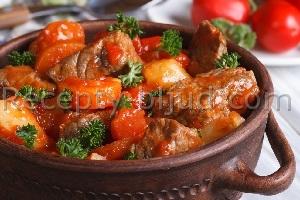 Свинина в горшочке с овощами рецепт