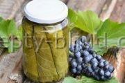 Консервированные виноградные листья рецепт с фото